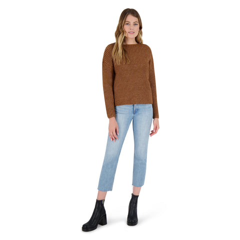 KNIT'S A LOOK SWEATER WALNUT