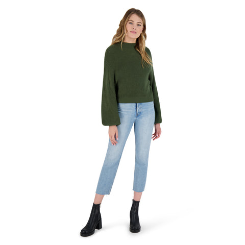 MOCK OF AGES SWEATER ARMY GREEN