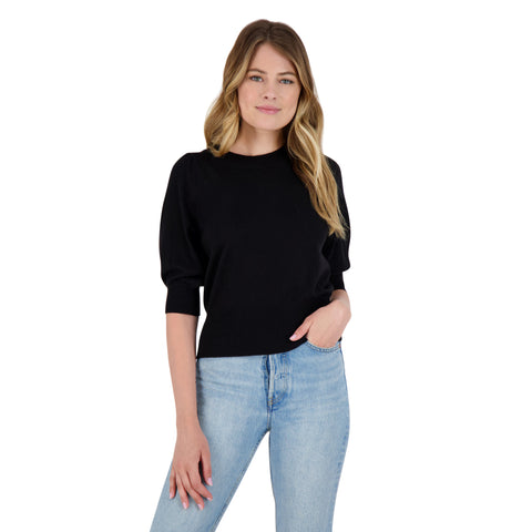 GIRL NEXT DOOR SWEATER BLACK