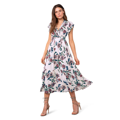 Elegant Domain Midi Dress