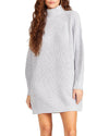 SWEATER MINI DRESS GREY