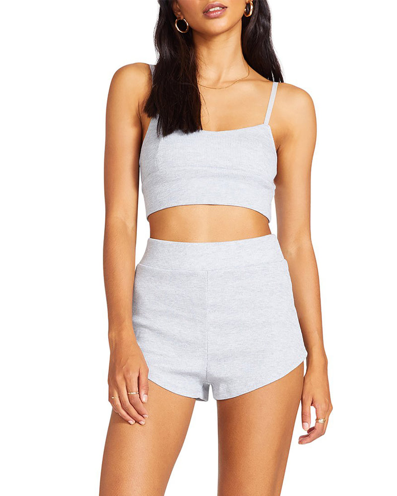 STRETCH AND RELEASE SHORT GREY