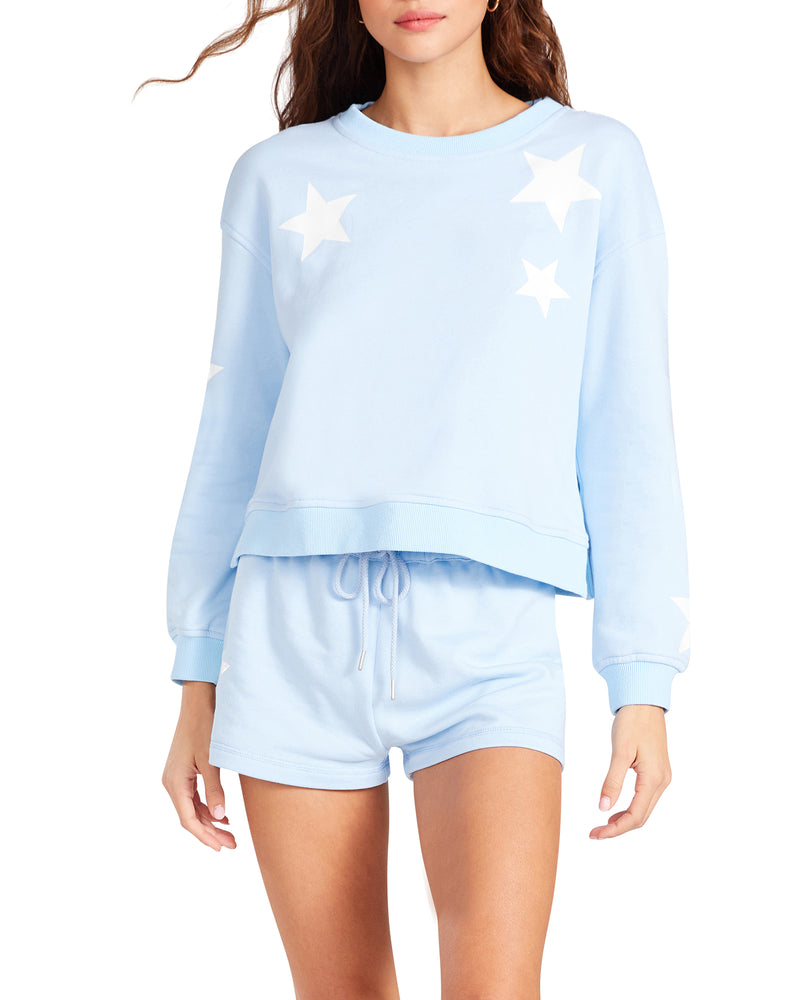 FIVE STAR SWEATSHIRT BLUE