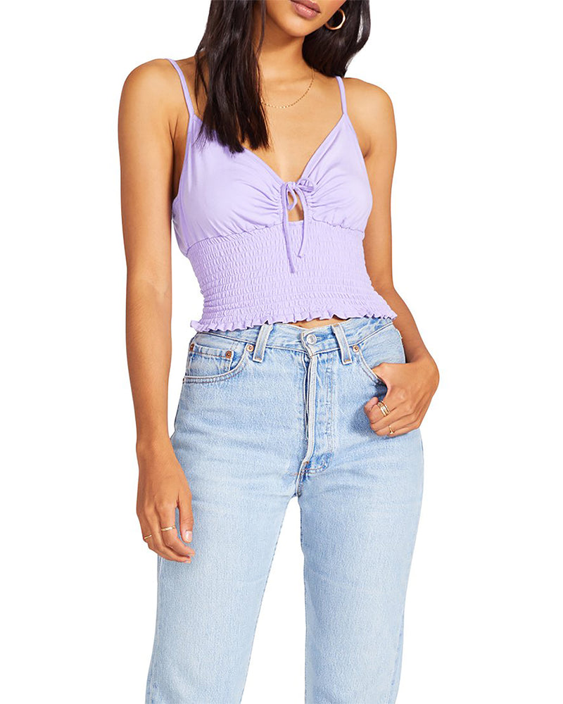DREAM BABY DREAM TOP VIOLET