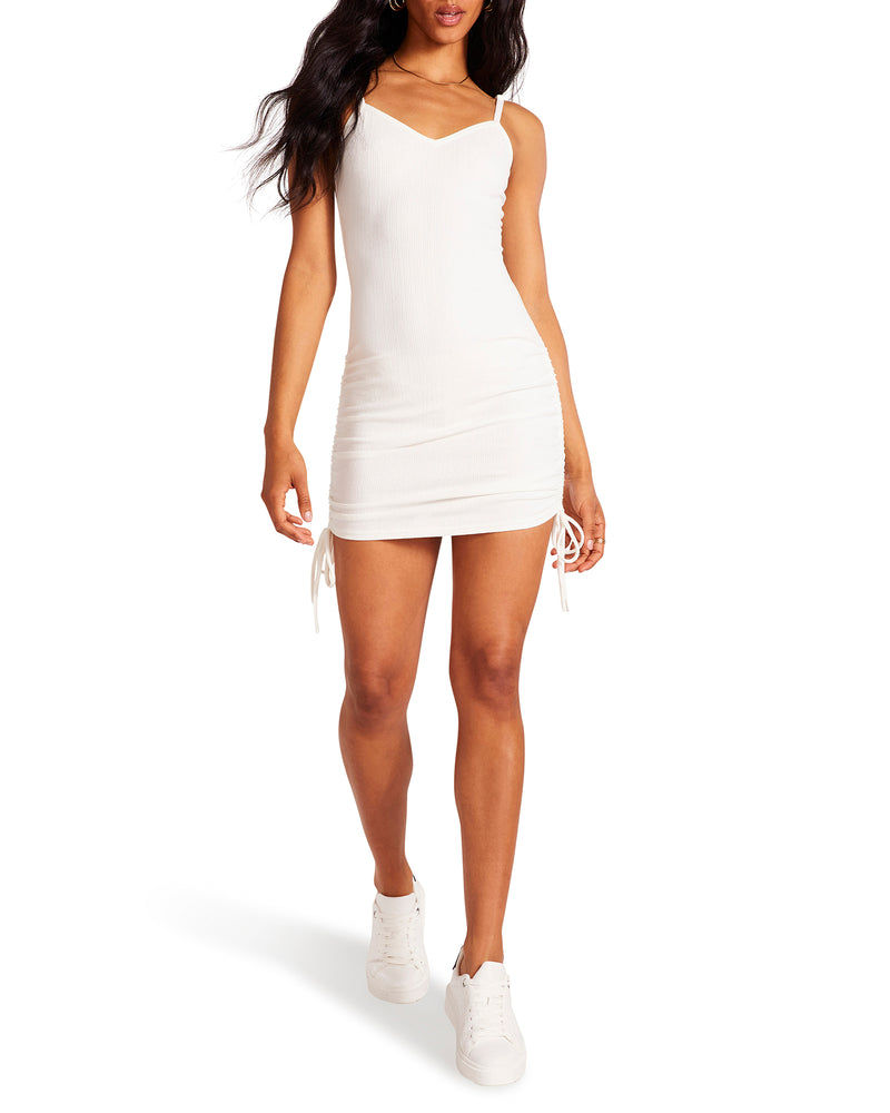 KNIT THE BEACH DRESS IVORY