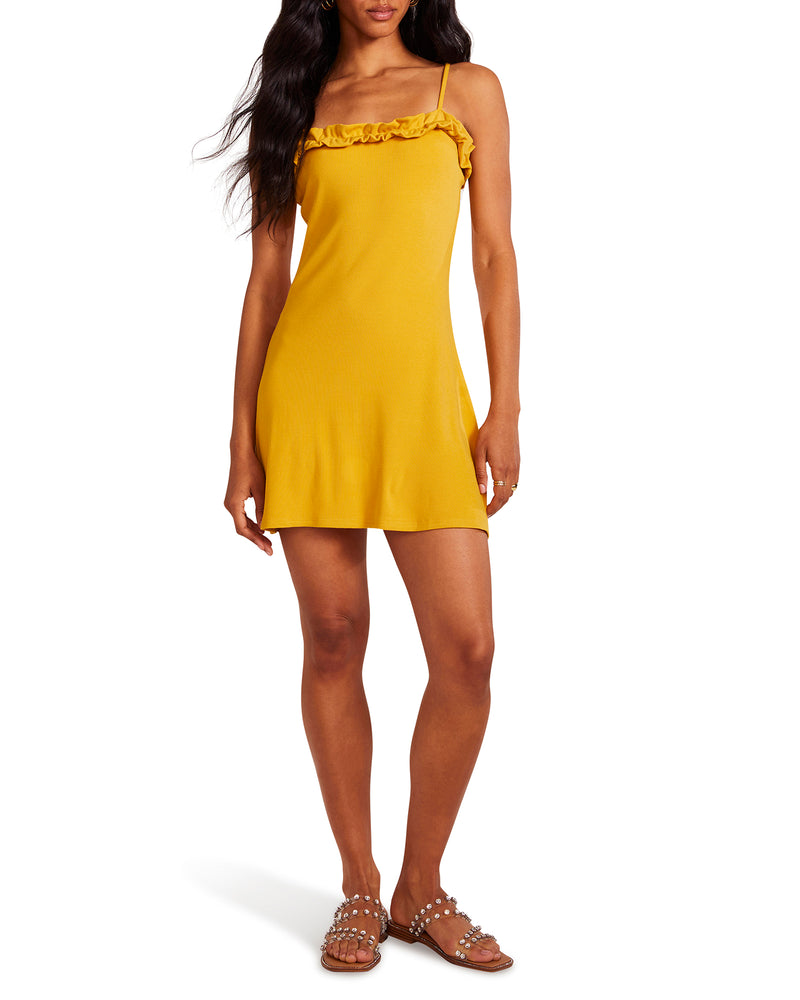 ONE SUMMER NIGHT DRESS YELLOW