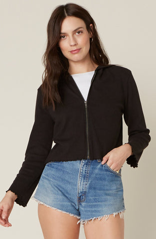 But Make It Fashion Zip Front Jacket