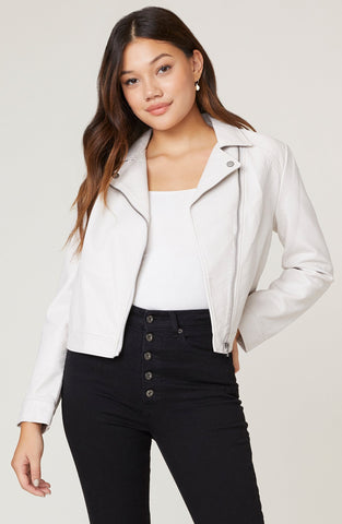 Moto Skills Vegan Leather Jacket