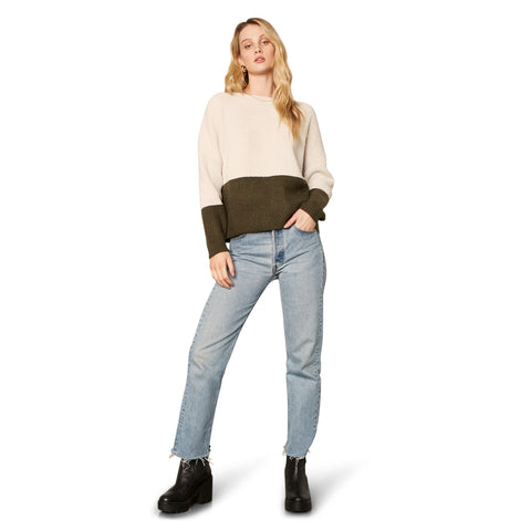 NEW KNIT ON THE BLOCK SWEATER OATMEAL