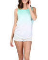 DIP DYED TANK LIGHT GREEN