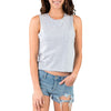 CREW NECK TANK TOP LIGHT GREY