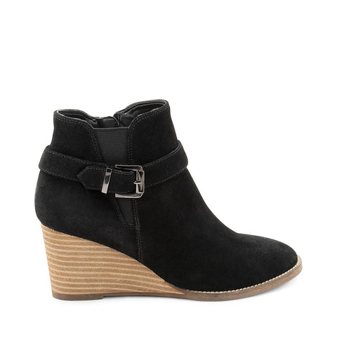 NATALIA WATERPROOF BLACK SUEDE