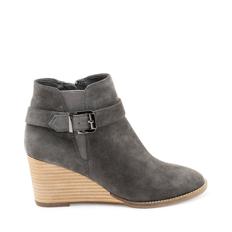 NATALIA WATERPROOF DARK GREY SUEDE