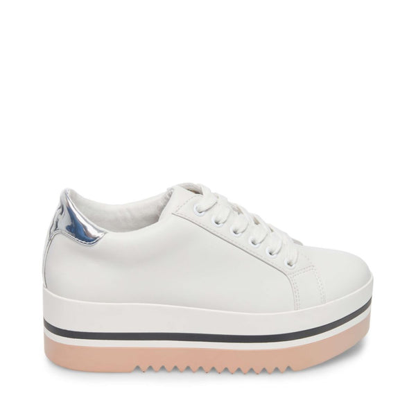 White Platform Trainers Suitable For Men And Women Of All Ages In All Seasons Clothing, Shoes & Accessories Athletic Shoes
