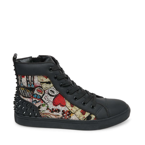 cab4358809 CHAOS RED MULTI.  129.95. DEX BLACK LEATHER - Steve Madden