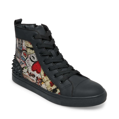 CHAOS RED MULTI - Steve Madden