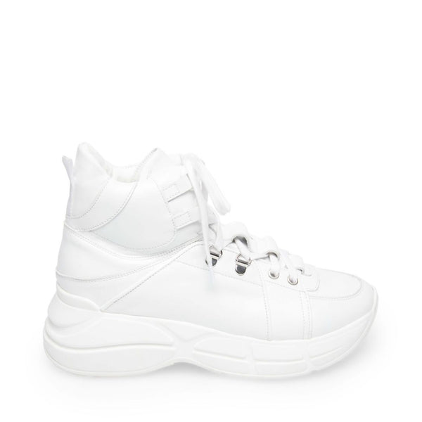 FAZE WHITE LEATHER - Steve Madden