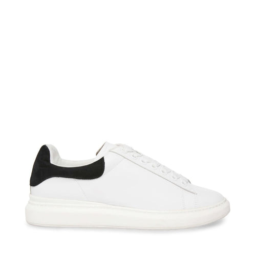 FROSTED WHITE/BLACK - Steve Madden