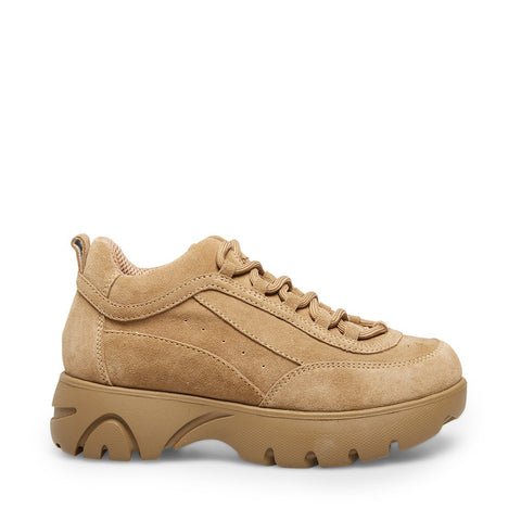 JUNIOR TAN SUEDE