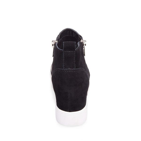aca573bad33 WEDGIE BLACK SUEDE – Steve Madden