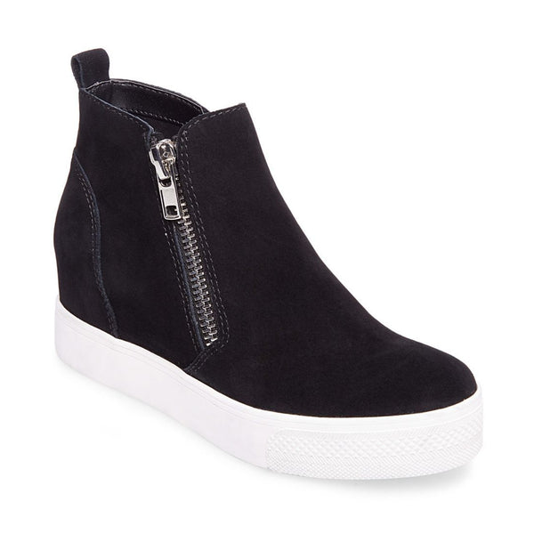 7a526cd21c3 WEDGIE BLACK SUEDE – Steve Madden