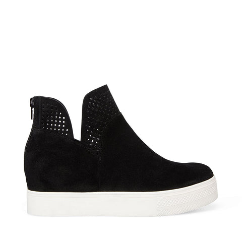 WINNI BLACK SUEDE