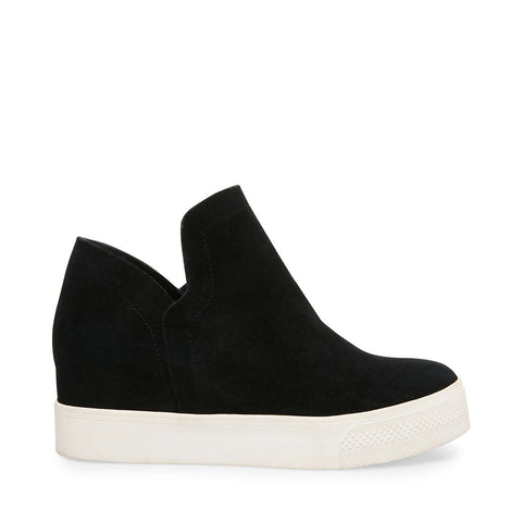 WRANGLE BLACK SUEDE - Steve Madden