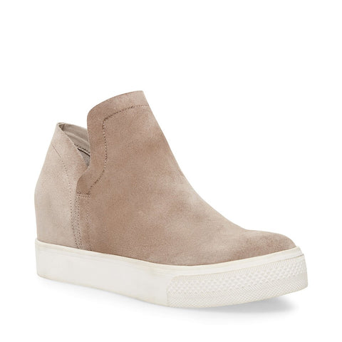 WRANGLE TAUPE SUEDE - Steve Madden