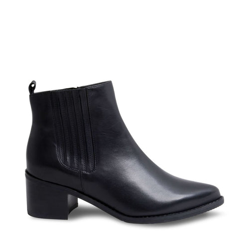 ELVINA WATERPROOF BLACK LEATHER - Steve Madden