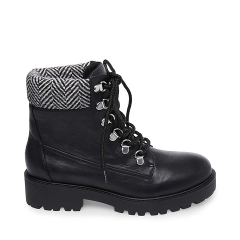 ANARCHY BLACK LEATHER - Steve Madden