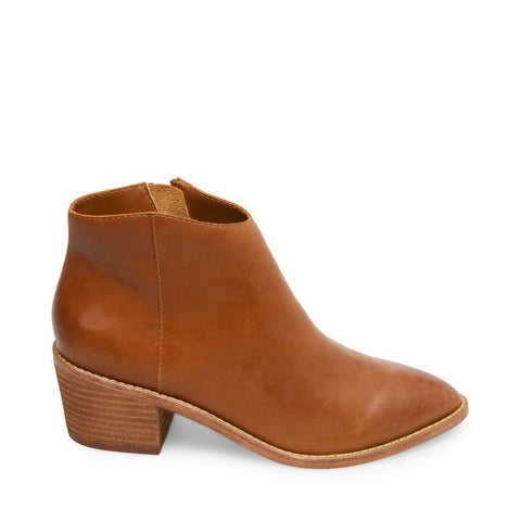 AUTUMN BROWN LEATHER - Steve Madden