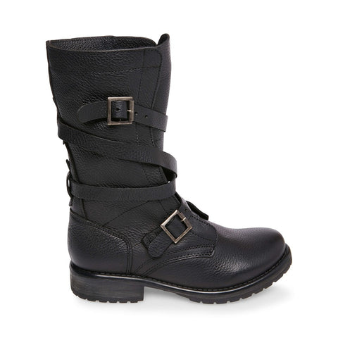 BANDDIT BLACK LEATHER - Steve Madden