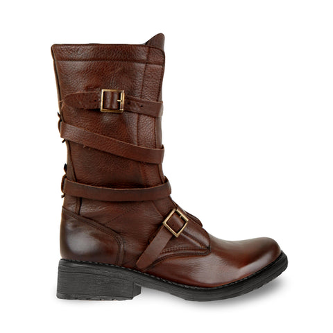 BANDDIT BROWN LEATHER - Steve Madden