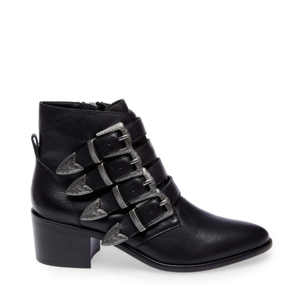 BILLEY BLACK LEATHER - Steve Madden