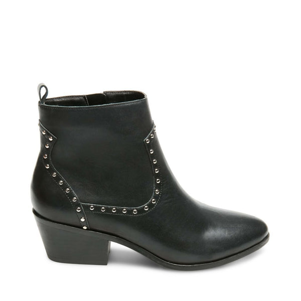 BUSTER BLACK LEATHER - Steve Madden