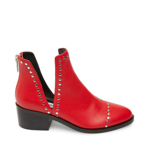 CONSPIRE RED LEATHER - Steve Madden