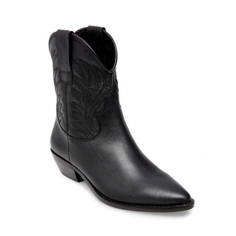 CORPUS BLACK LEATHER - Steve Madden