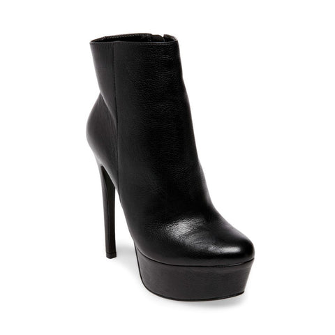 DECEITFUL BLACK LEATHER - Steve Madden