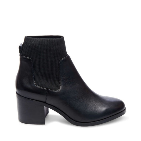 ERIKA BLACK LEATHER - Steve Madden