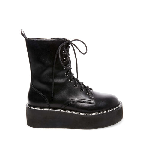 FEUD BLACK LEATHER - Steve Madden