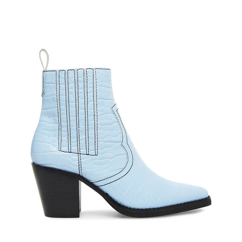 GENIVA LIGHT BLUE CROCODILE