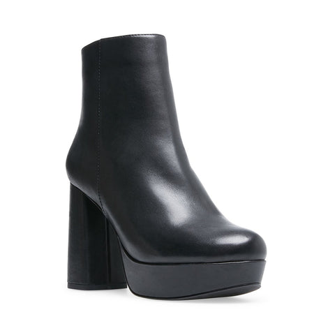 GRATE BLACK LEATHER - Steve Madden