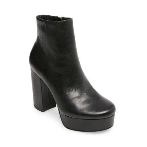 GRATIFY BLACK LEATHER - Steve Madden