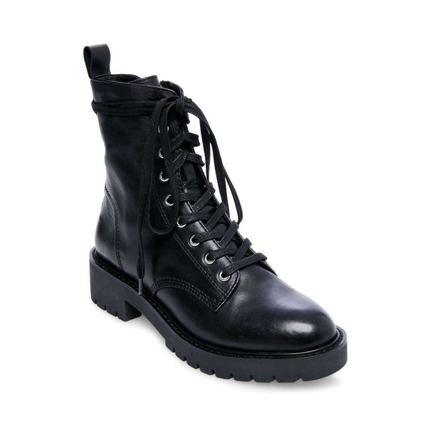 GRID BLACK LEATHER - Steve Madden