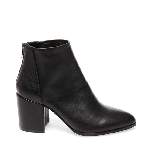 JILLIAN BLACK LEATHER - Steve Madden