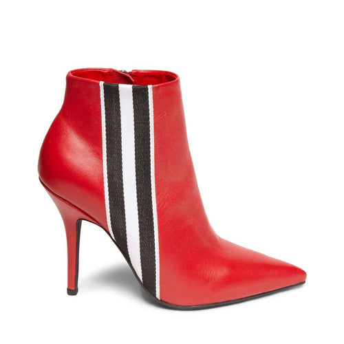KNOCK RED LEATHER - Steve Madden