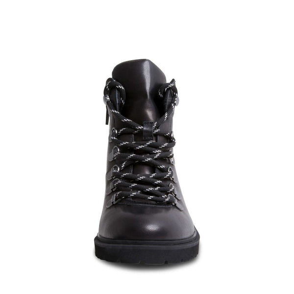 LORA BLACK LEATHER - Steve Madden