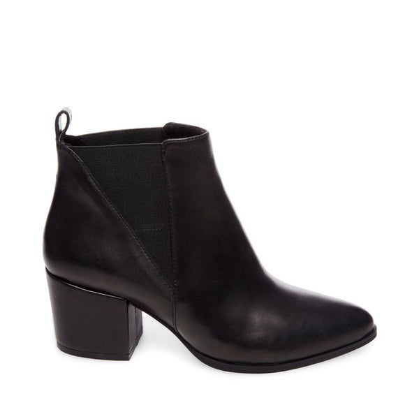 NEUTRAL BLACK LEATHER - Steve Madden