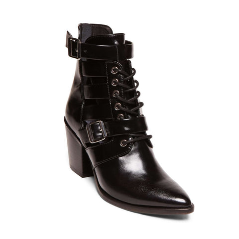 PALERMO BLACK LEATHER - Steve Madden