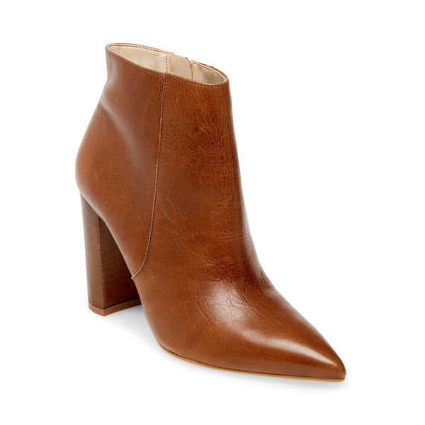 POUT COGNAC LEATHER - Steve Madden